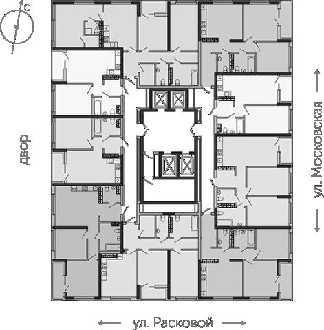 2-32 этаж