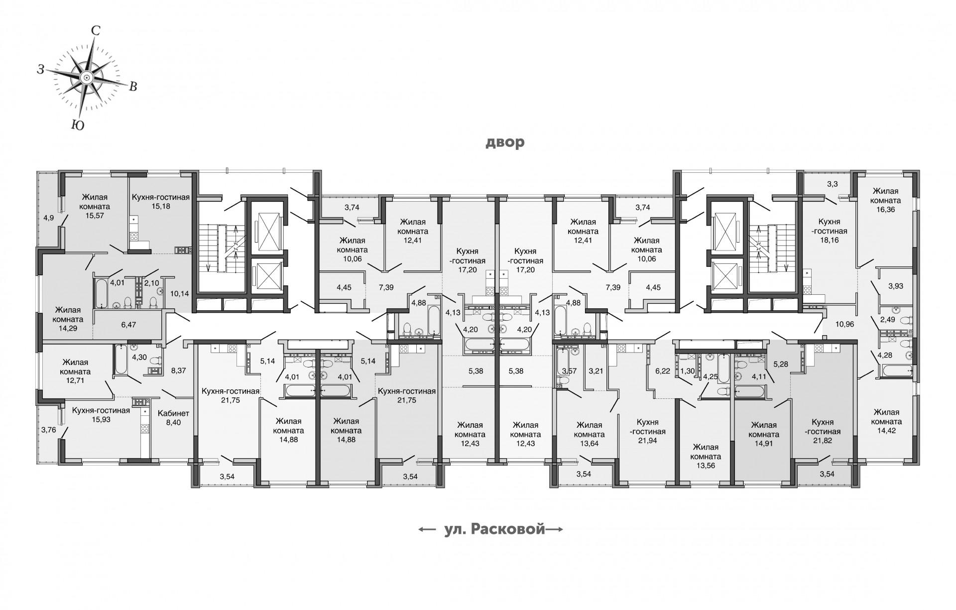 2-15 этаж