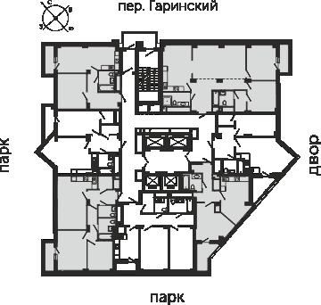 8-12 этаж