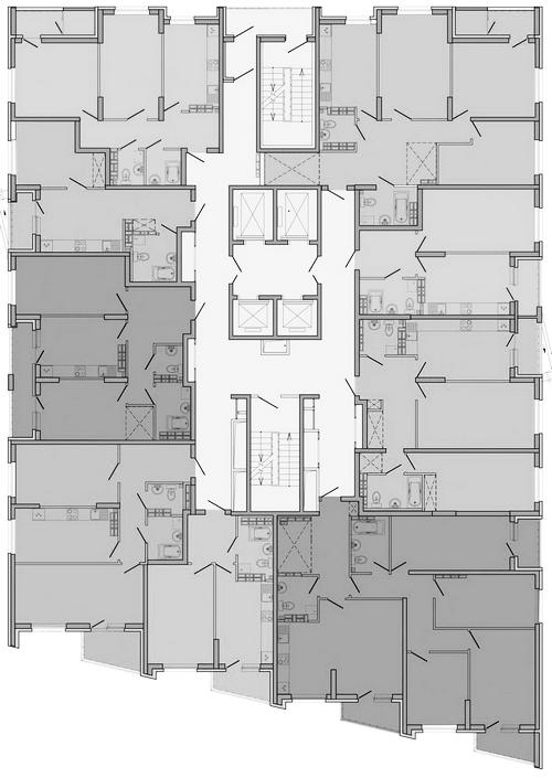 3-25 этаж